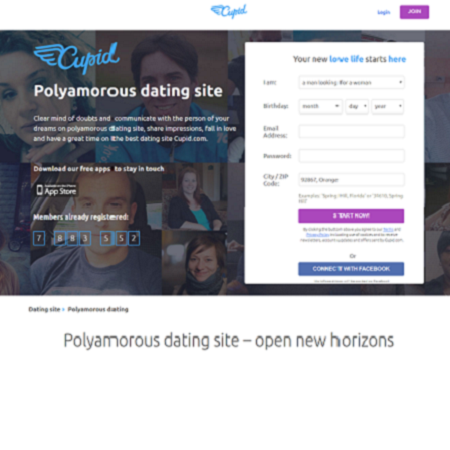 cupid, find polyamory relationship